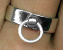 Sterling Story of O Ring