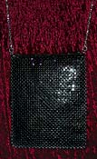 Black Chainmail Shoulder Bag