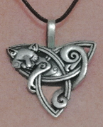 Pewter Kit Fox Pendant