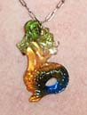 Melusine Glass Mermaid Pendant