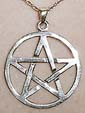 Sterling Pentacle Pendant