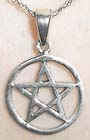 Small Sterling Pentacle