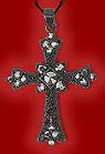 Black Metal Triumphal Cross
