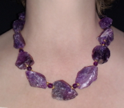 Queen Mab Amethyst Necklace